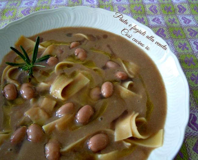 Pasta e fagioli alla veneta-Così cucino io