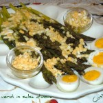 Asparagi bianchi o verdi con salsa d'uova alla veneta