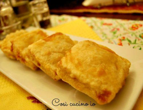 Mozzarelle in carrozza (versione lievito madre)