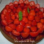 Torta margherita alle fragole