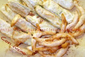 Fritto vegetariano (versione lievito madre)