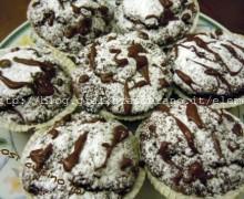 Muffin cioccolato e pere2