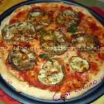 Pizza alle melanzane