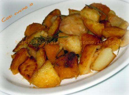 Pout-porri di patate zucca e castagne