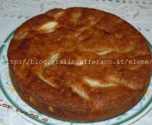 Torta amaretti e pere1