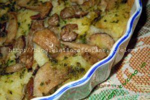 Tortino di porcini e patate