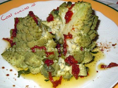 Amorino in salsa di capperi e pomodori secchi