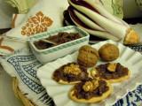Crostini alla salsa di radicchio e noci-Così cucino io