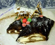 Tronchetto di Natale Tiramisu1