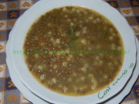 pasta e lenticchie - Cucinare Pasta E Lenticchie