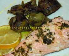 Salmone all'aroma di limone3