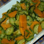 Zucchine e zucca trifolate