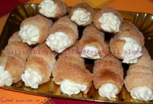 Cannoli chantilly