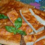 Focaccia pizzaiola