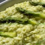 Risotto di asparagi verdi