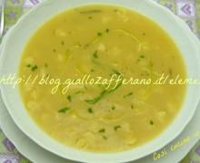 minestrra di patate e carote