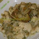 Gnocchetti di patate ai carciofi