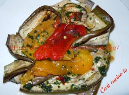 Grigliatina aromatica di verdure estive