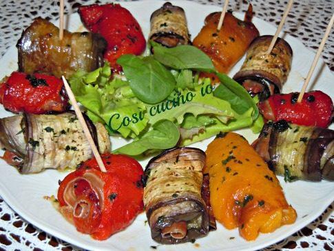 Involtini estivi, ricetta per finger food