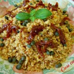 Cuscus al pesto di mandorle e pomodori secchi