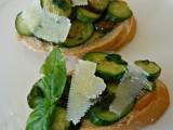 Crostoni zucchinegranapadano