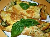 Omelette zucchine e pecorino