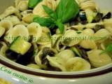Orecchiette melanzane e zucchine1