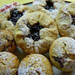 Tortine rustiche alla marmellata di ciliegie
