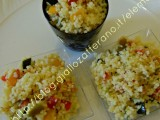 cuscus peperoni  finger food