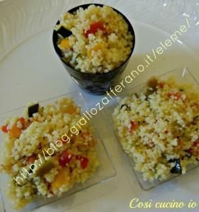 cuscus peperoni  finger food