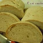 Filoncino di pane rustico (o quasi)