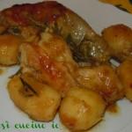 Pollo e patate alla casalinga