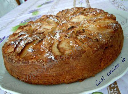 Torta di mele senza grassi (ricetta light)