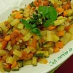 Verdure in mix aromatico
