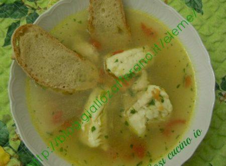 Zuppa di gallinella di mare