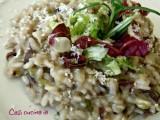 Risotto insalata radicchio