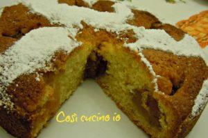 Torta morbida con marmellata di mele