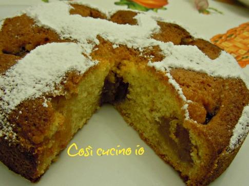 Torta morbida di marmellata di mele 2