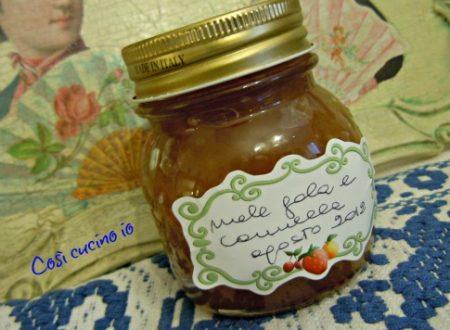 Marmellata di mele gala e cannella