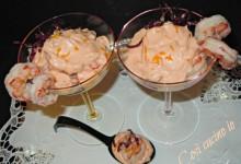 Cocktail di gamberi al profumo di arancia