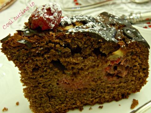 Fetta torta natalizia
