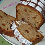 Plumcake al mirtillo