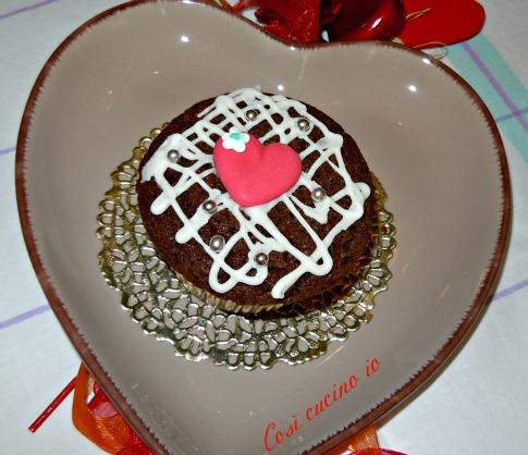 Cupcake di sanvalentino così cucino io