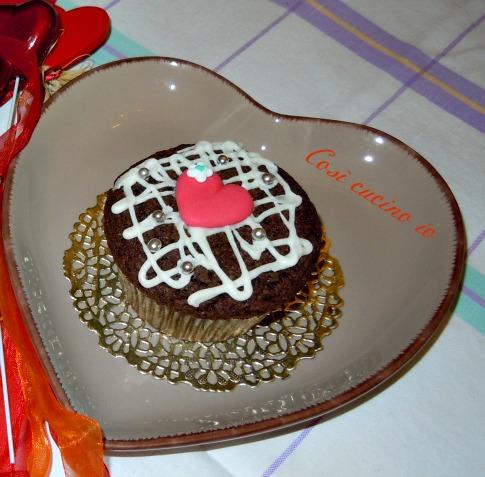 cupcake sanvalentino così cucino io