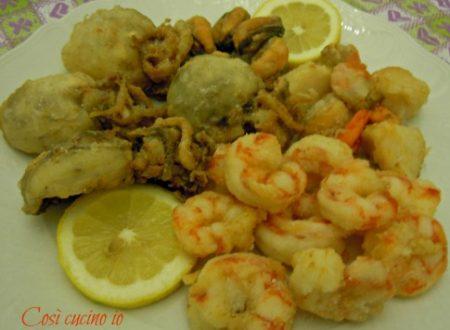 Frittura mista di pesce (ricetta veneziana)