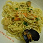 Spaghettini allo scoglio (ricetta di mare)