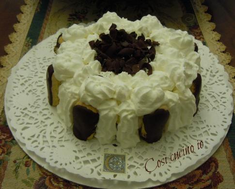 Bavarese vaniglia e cioccolato Così cucino io