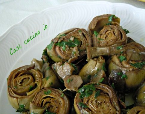 Carciofi al tegame (ricetta casalinga)