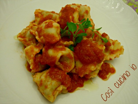 Save to My Recipes Ricotta Gnudi with Pomodoro Sauce These dumplings ...