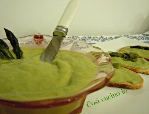 Crostini alla salsa di asparagi-Così cucino io